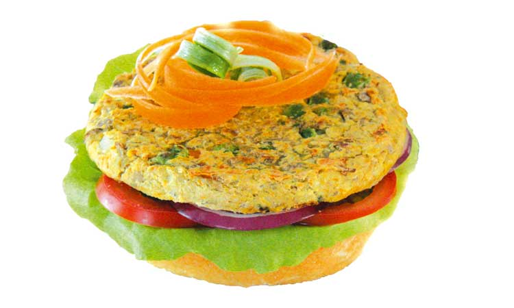 Vegie Magic Garden Veg and Lentil Burger