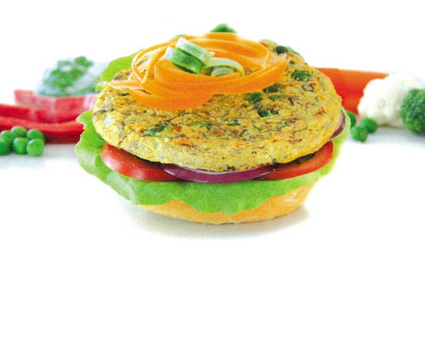 Vegie Magic Garden Veg & Lentil Vegie Burger Patty