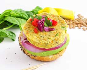 Vegie Magic Garden Veg and Lentil Slider