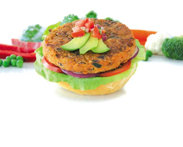 Vegie Magic Spicy Bean & Quinoa Burger Patty