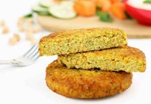 Vegie Magic Pumpkin & Coriander Falafel Burger Pattie