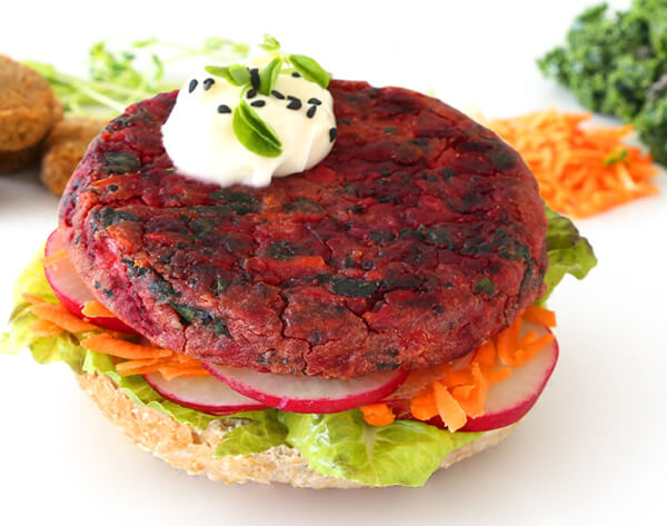 Vegie Magic Mediterranean Vegie Burger Pattie
