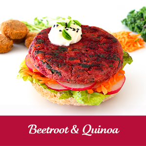 Vegie Magic Beetroot & Quinoa Vegan Pattie