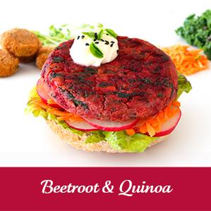Vegie Magic Beetroot & Quinoa Vegan Pattie