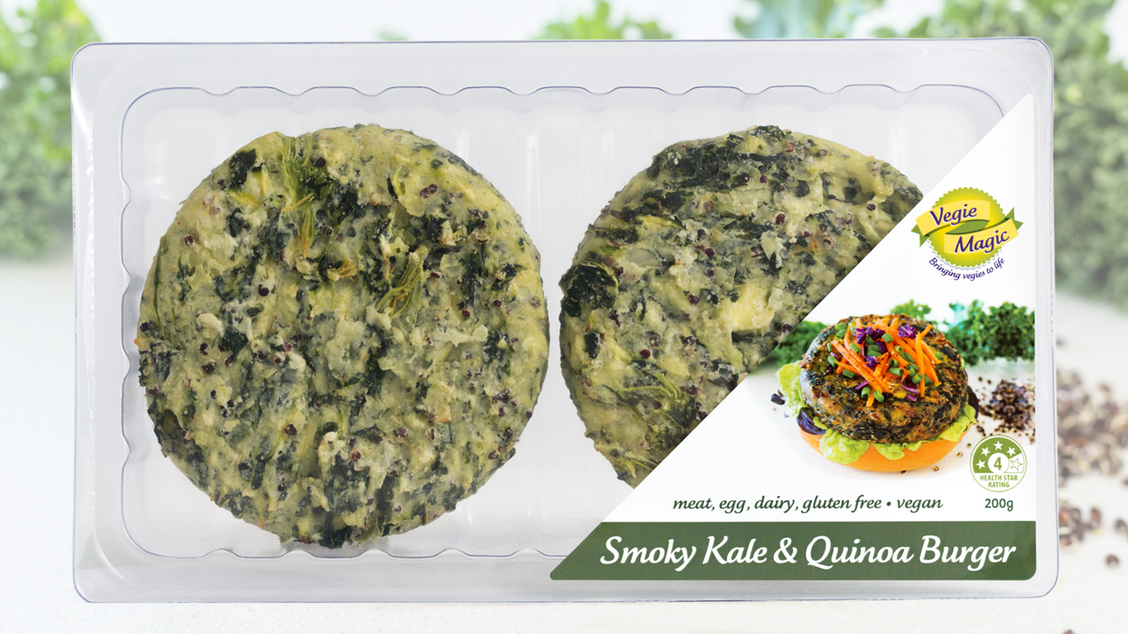 Vegie Magic Smoky Kale & Quinoa Tray Pack