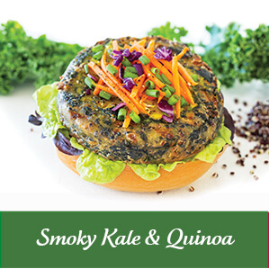 Vegie Magic Smoky Kale & Quinoa Vegie Patties