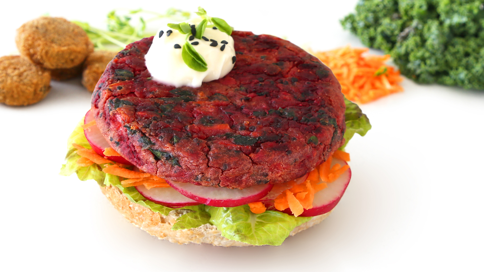 Vegie Magic Beetroot & Quinoa Vegie Pattie